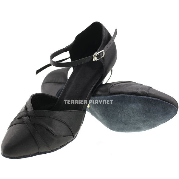 Black Women Dance Shoes D71