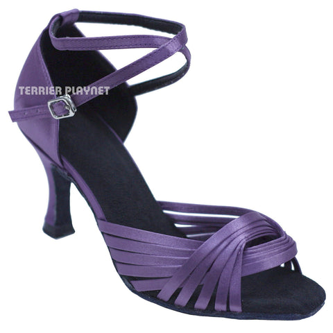Light Purple Women Dance Shoes D735