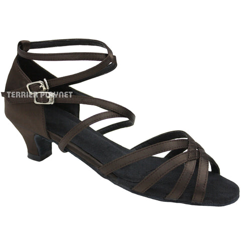 Brown Women Dance Shoes D783