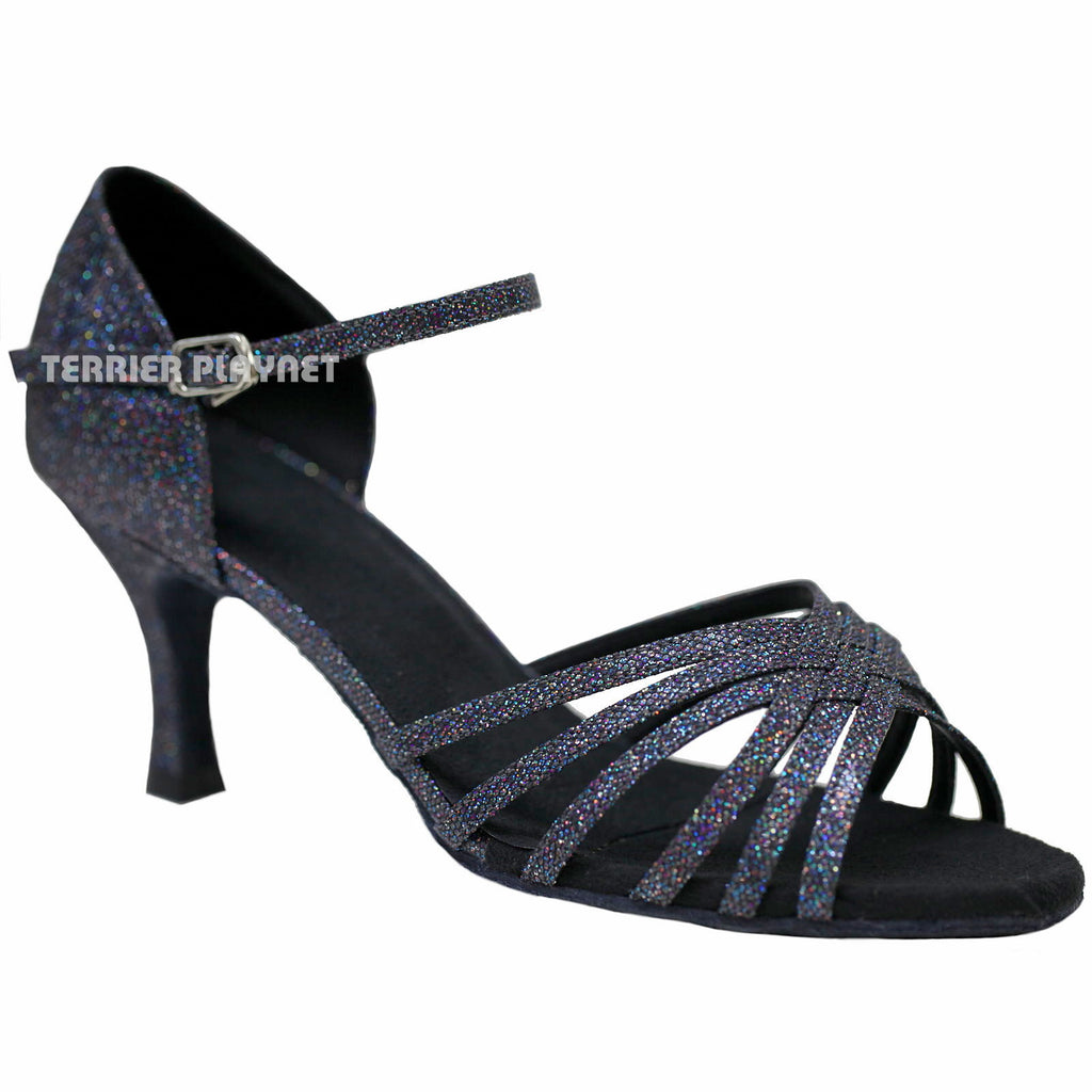 Black Women Dance Shoes D809
