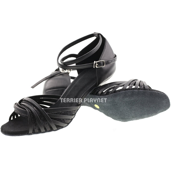Black Women Dance Shoes D815