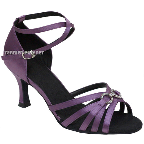 Light Purple Women Dance Shoes D876