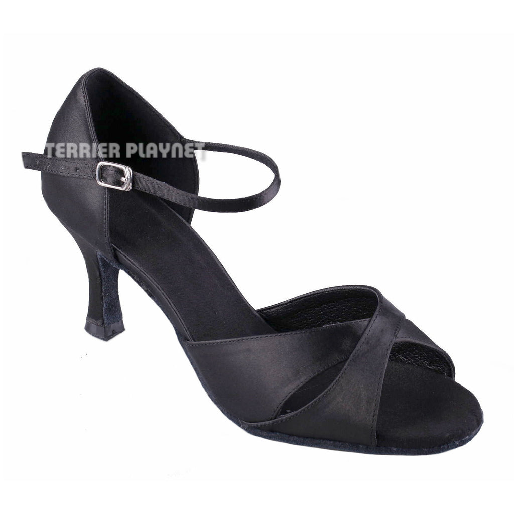 Black Women Dance Shoes D905