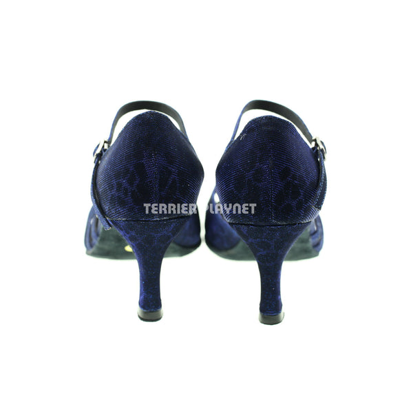 Blue Women Dance Shoes D945