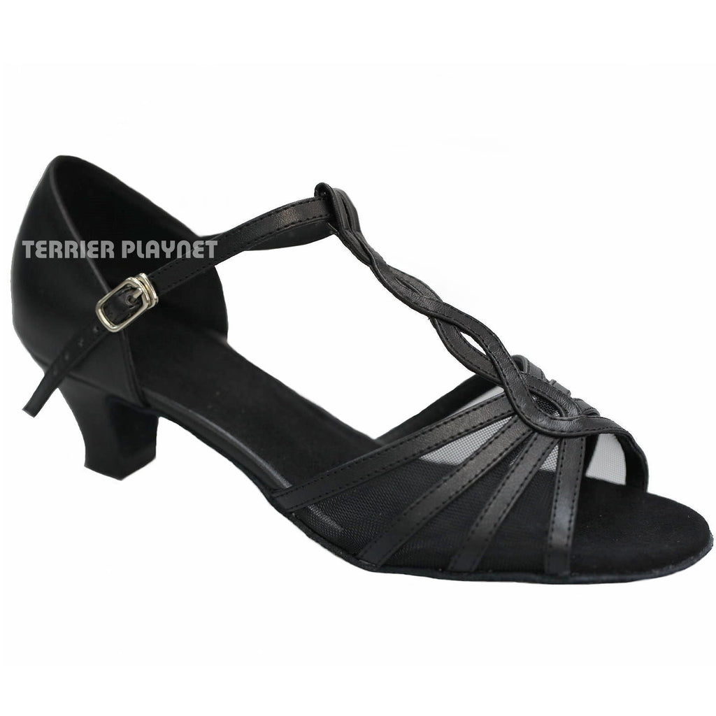 Black Women Dance Shoes D955