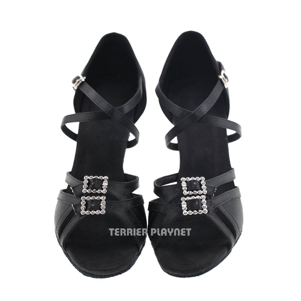 Black Women Dance Shoes D969