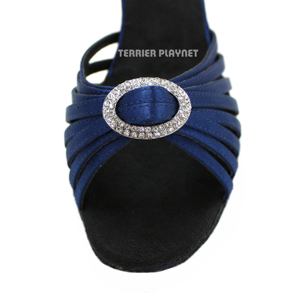 Blue Women Dance Shoes D981
