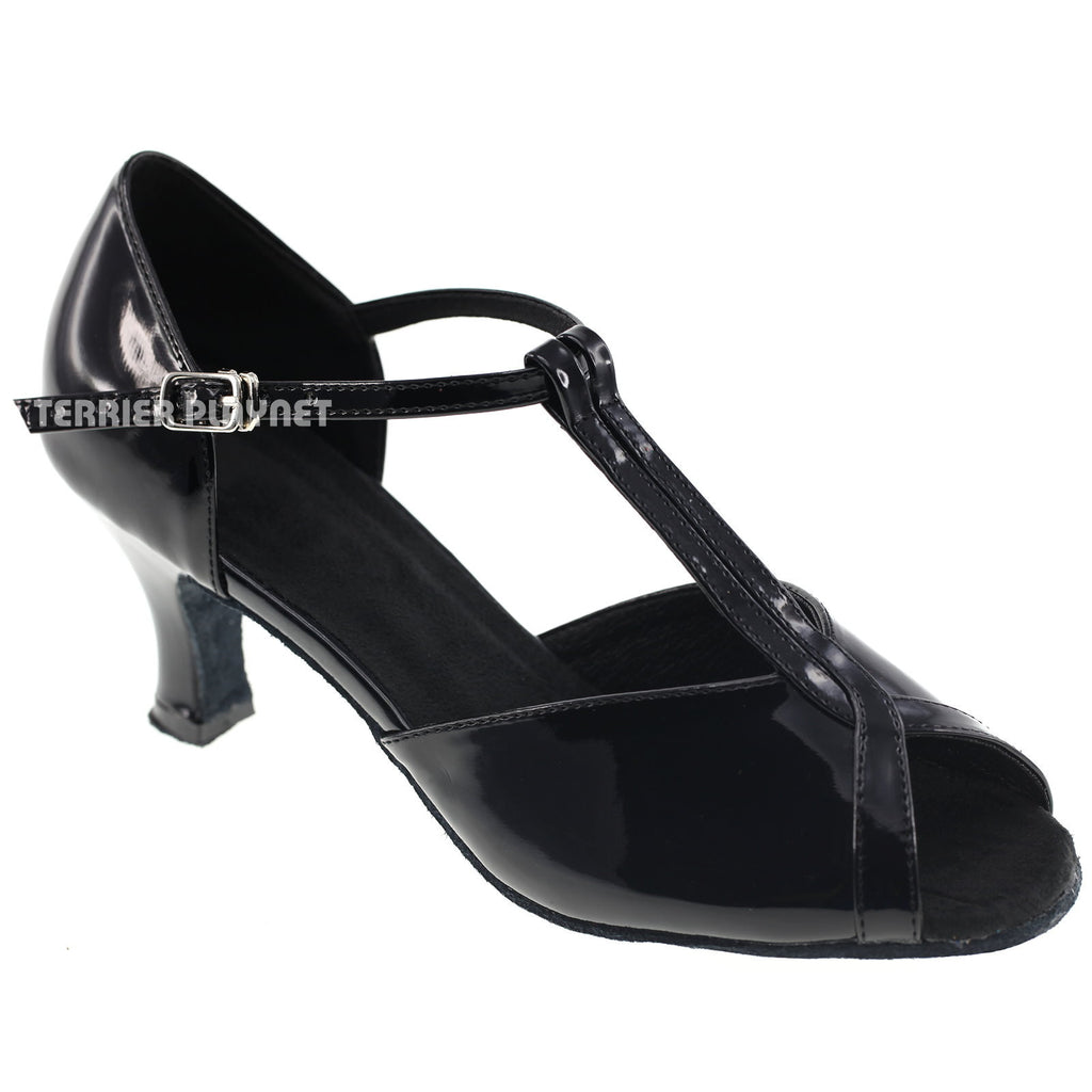 Black Women Dance Shoes D987
