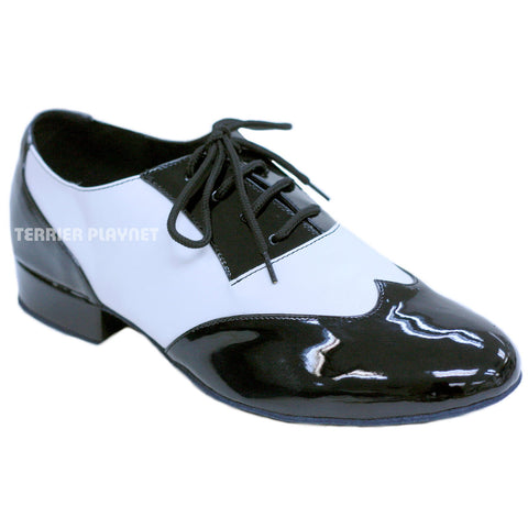 Black & White Men Dance Shoes M53