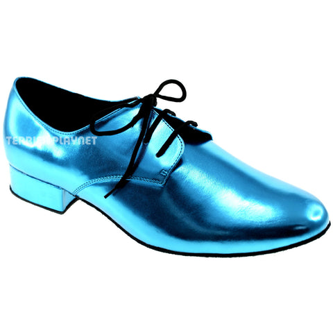 Light Blue Men Dance Shoes M65