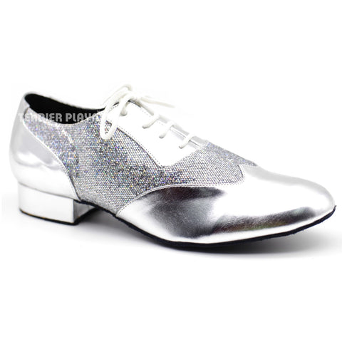 Silver Men Dance Shoes M74