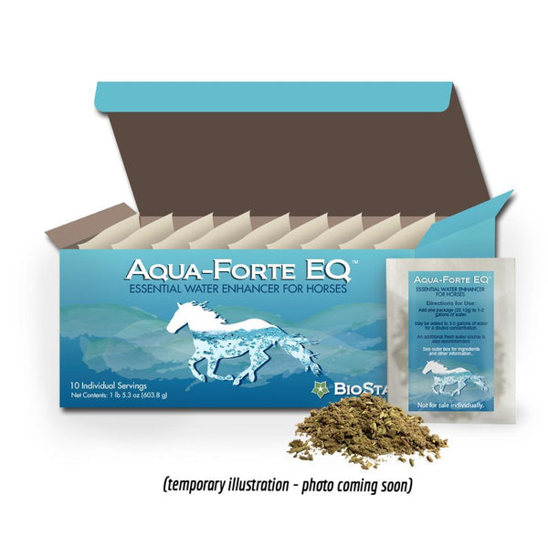 Hydration by Aqua Forte EQ Essential Water Enhancer for Horses | BioStar US