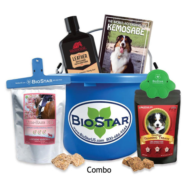 BioStar Gift Buckets for both Horses and Dogs - Special 2017
