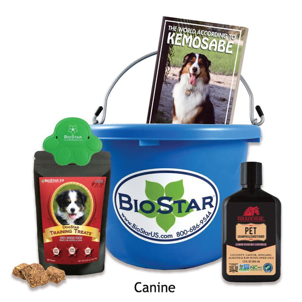 BioStar Gift Buckets for Dogs - Special 2017
