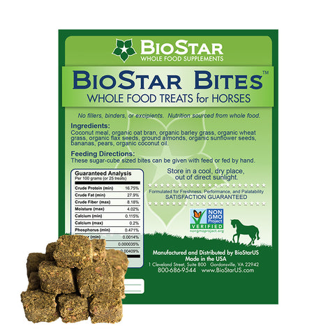 BioStar US BioStar Bites | Whole Food Treats for Horses