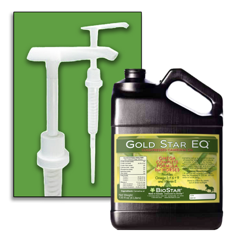 Gold Star EQ pump attachment for Gallon jug