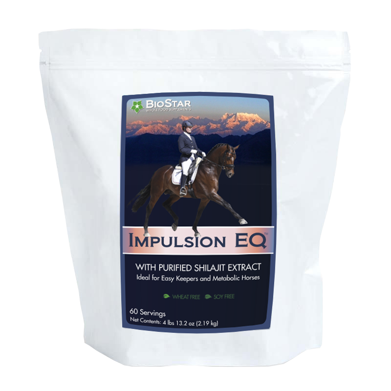 Impulsion EQ: Support for Metabolic Horses & Easy Keepers | BioStar US