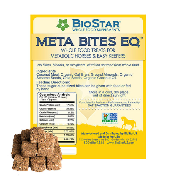 BioStar US Meta Bites EQ |  Whole Food Treats for Metabolic Horses and Easy Keepers