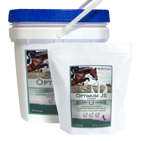 Optimum JS equine supplement for joints and connective tissue | BioStar US