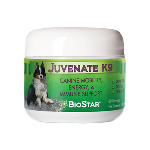 Juvenate K9 Supplement for Dogs | Joints, Circulation, Weight Management | BioStar US