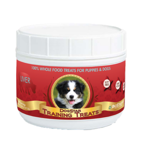 Dog Star K9 Liver Training Treats - Jar