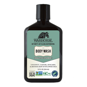 WarHorse Body Wash: Eucalyptus & Spearmint