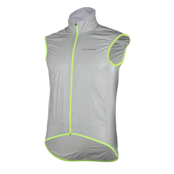 Gilet antivento Nylon Grey - Threeface