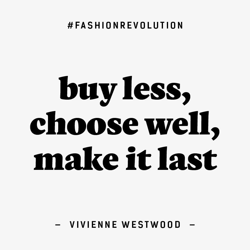 Fashion Revolution Week 2019 : Let's Demand Change