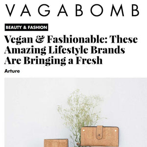 Vegan fashionable lifestyle brand Arture