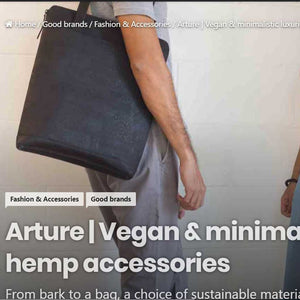 Vegan and minimalist wallets at Arture