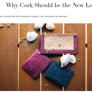 Vegan cork alternative to leather - Arture