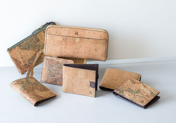 Natural Cork lifestyle accessories by Arture