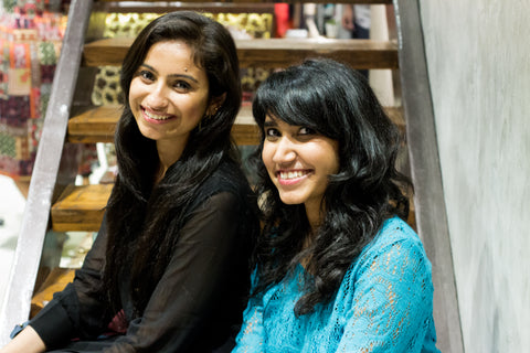 Shivani and Keshsa - Co Founders of Arture
