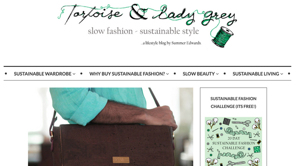 Tortoise and Lady Grey | Sustainable Fashion Blog | Arture Feature