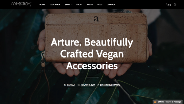 Annaborgia blog | Arture Vegan bags and wallets | Non leather