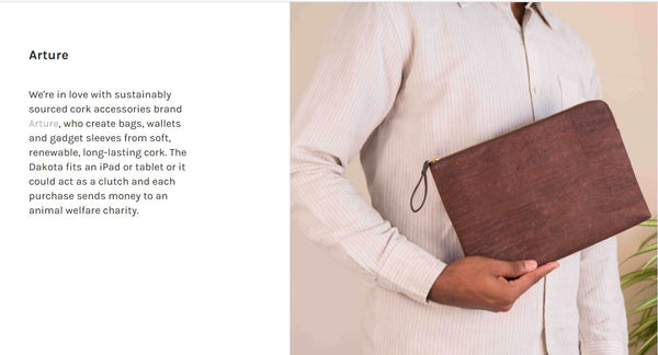 Eco-friendly fashion wallets for autumn