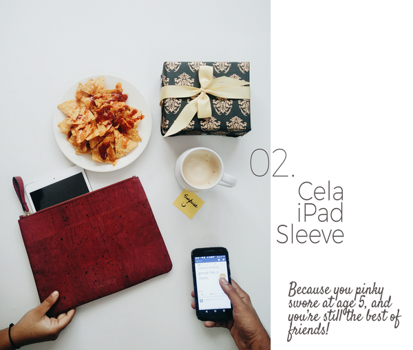 Cela iPad Sleeve - Gift for friend
