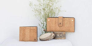 Vegan Cork Men's and Women's wallet by Arture
