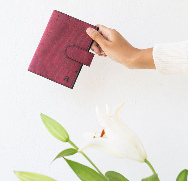Vegan Sustainable passport sleeve by Arture