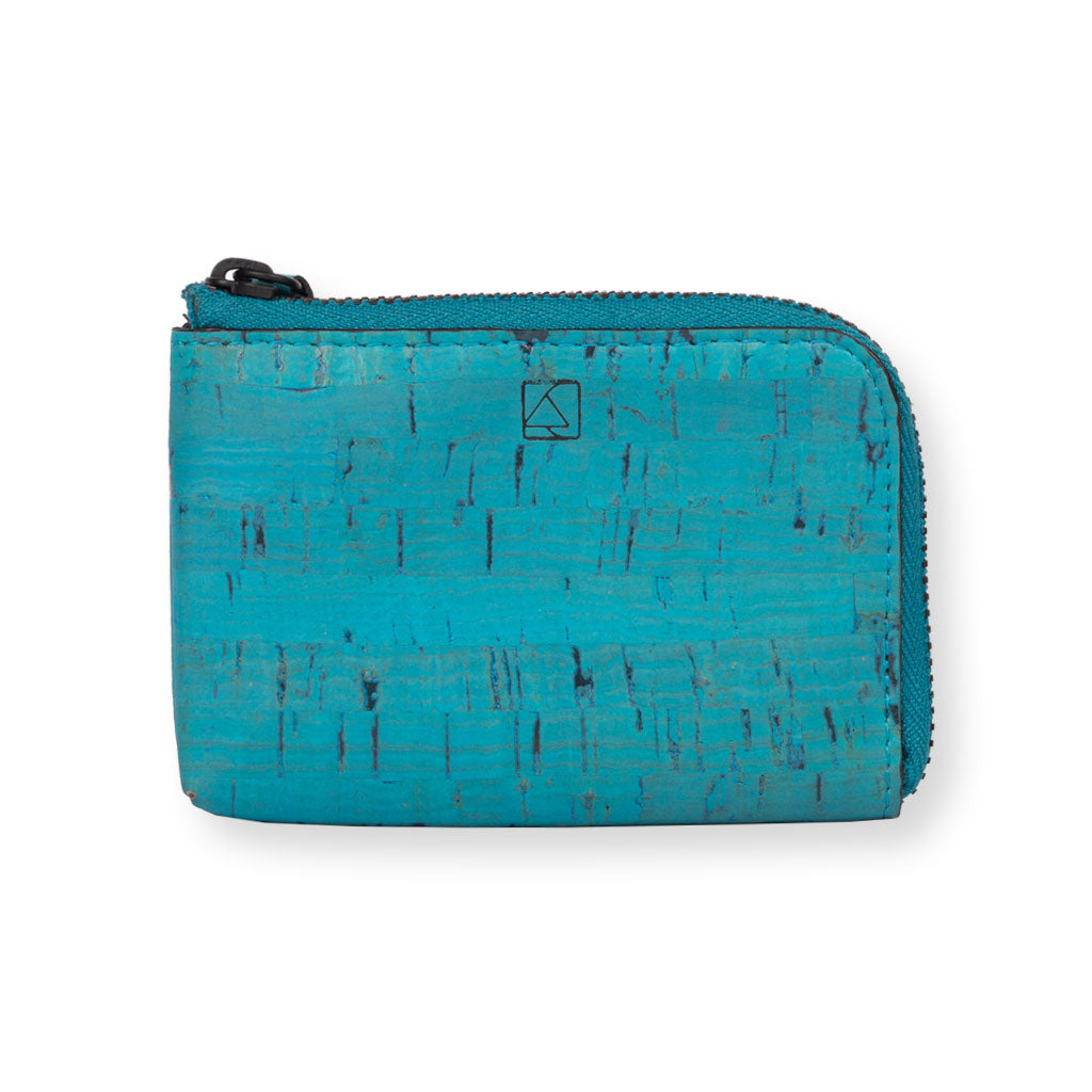 Aki Compact Wallet - Teal