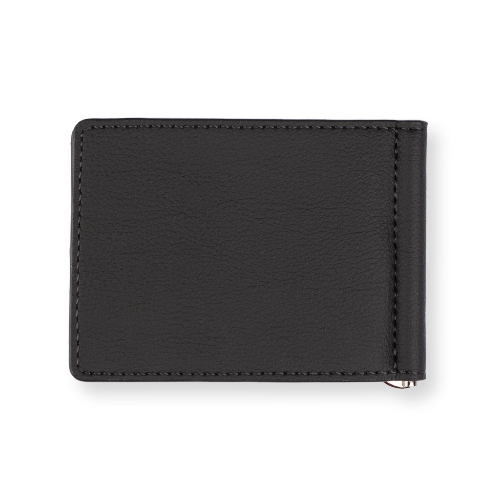 Ridge Money Clip Wallet - Ebony