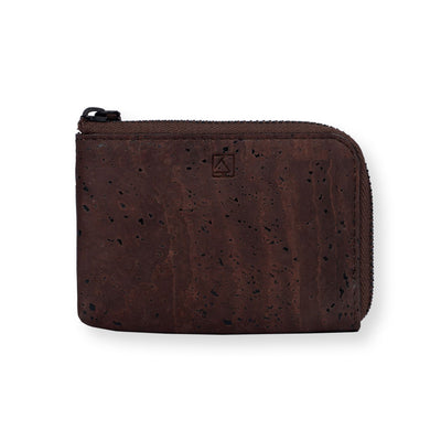 Aki Compact Wallet - Brown