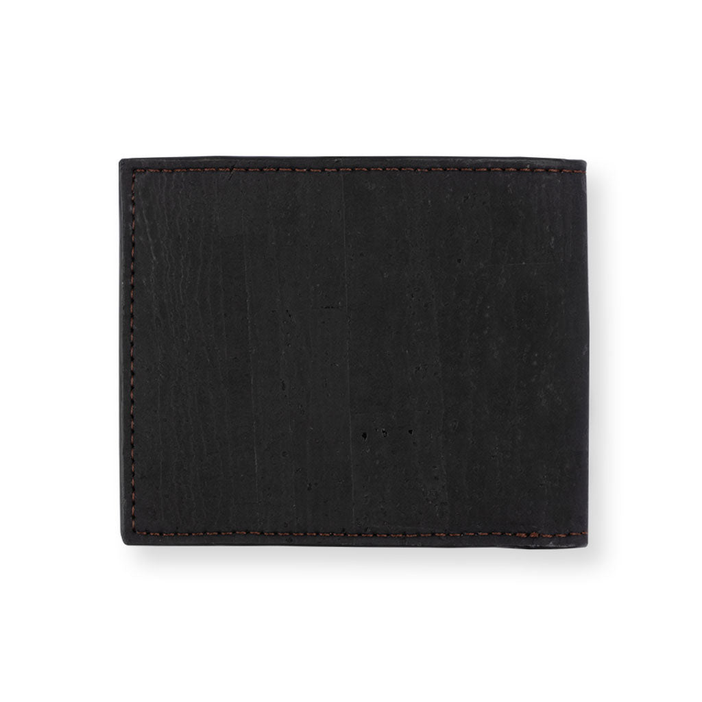 Glen Men's Coin Wallet - Black + Brown