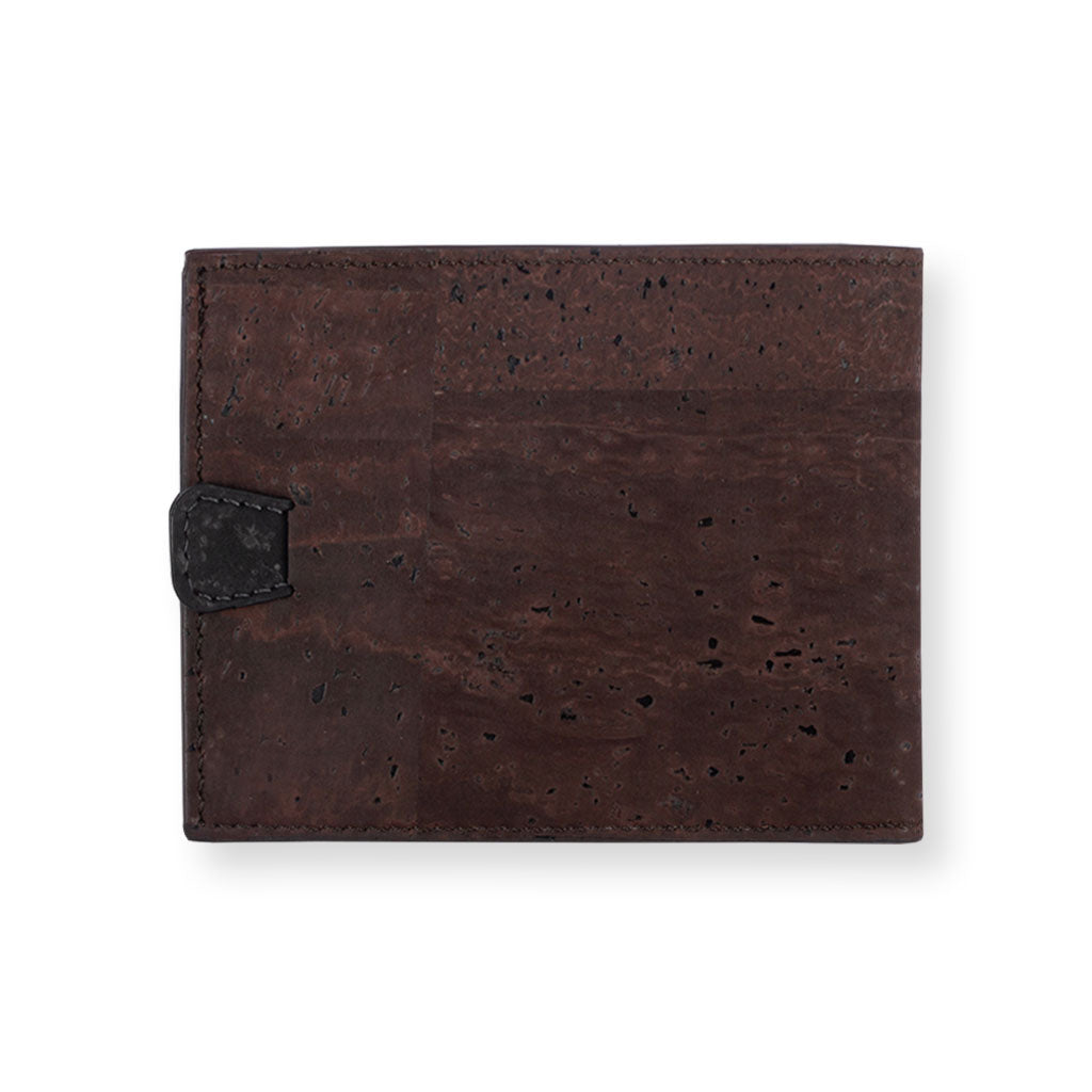 Arden Minimal Wallet - Brown