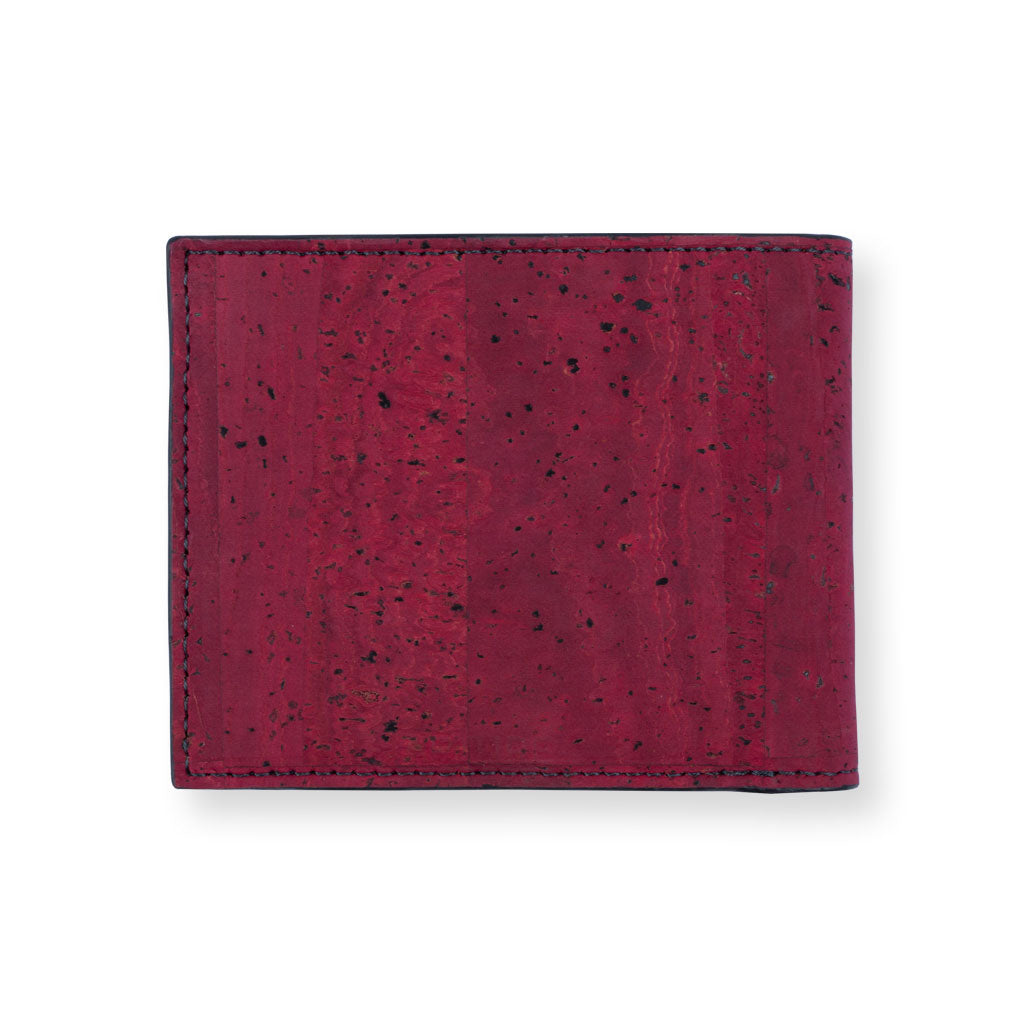 Gale Men's Slimfold Wallet - Maroon