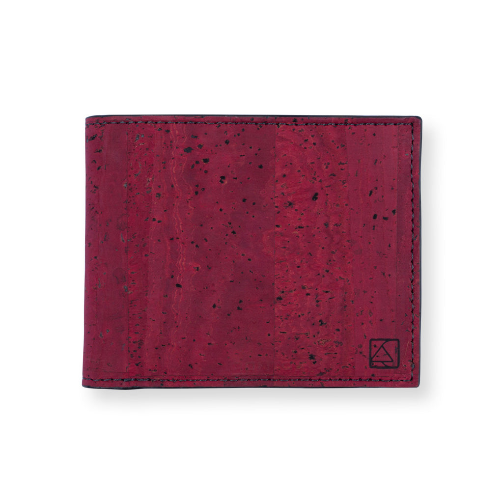 Glen Men's Coin Wallet - Maroon