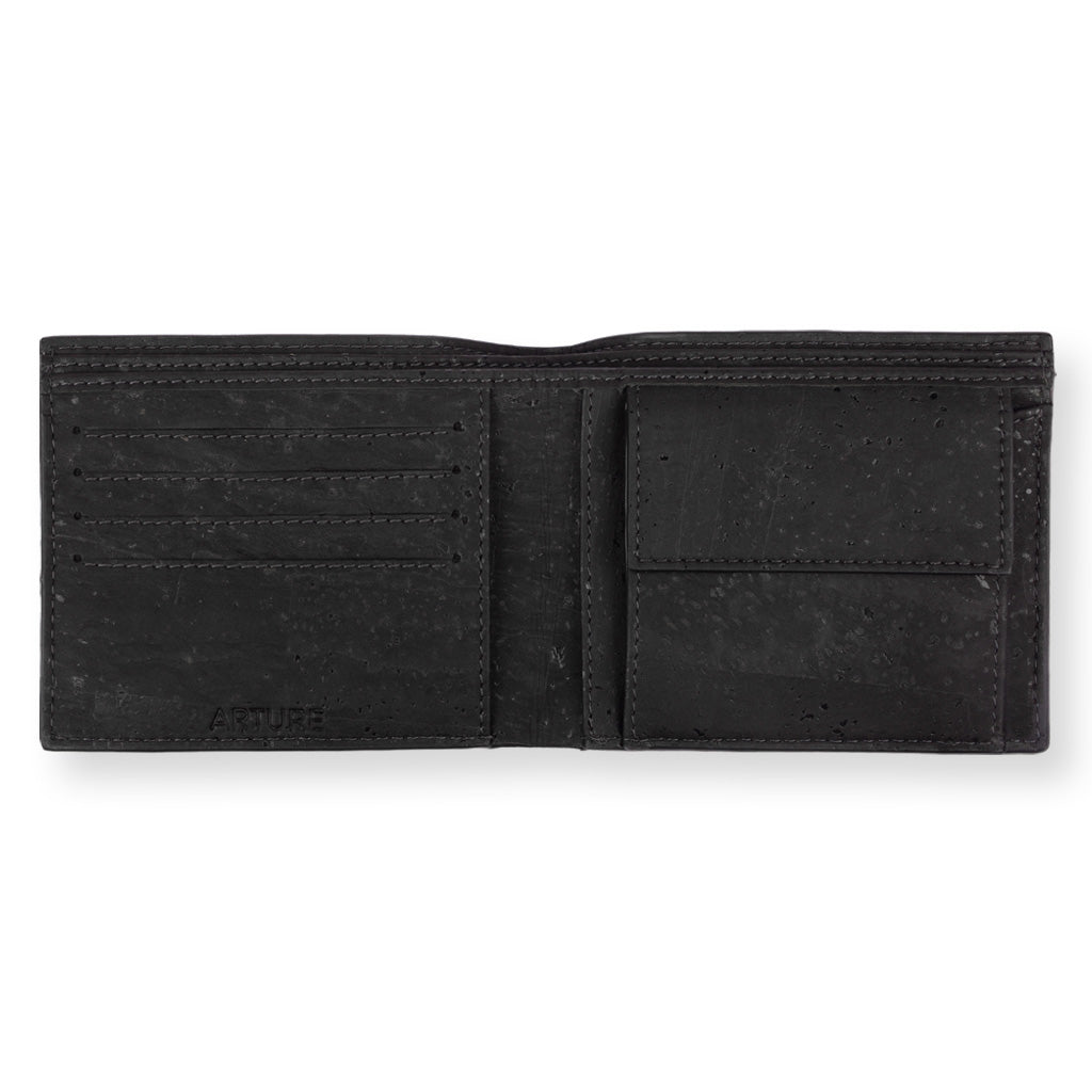 Glen Men's Coin Wallet - Natural