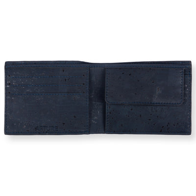Clove Slim Coin Wallet - Blue