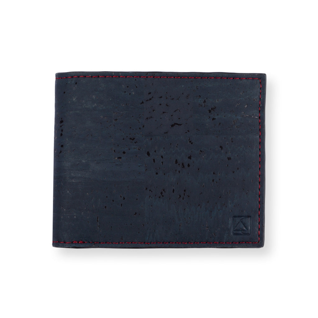 Glen Men's Coin Wallet - Blue