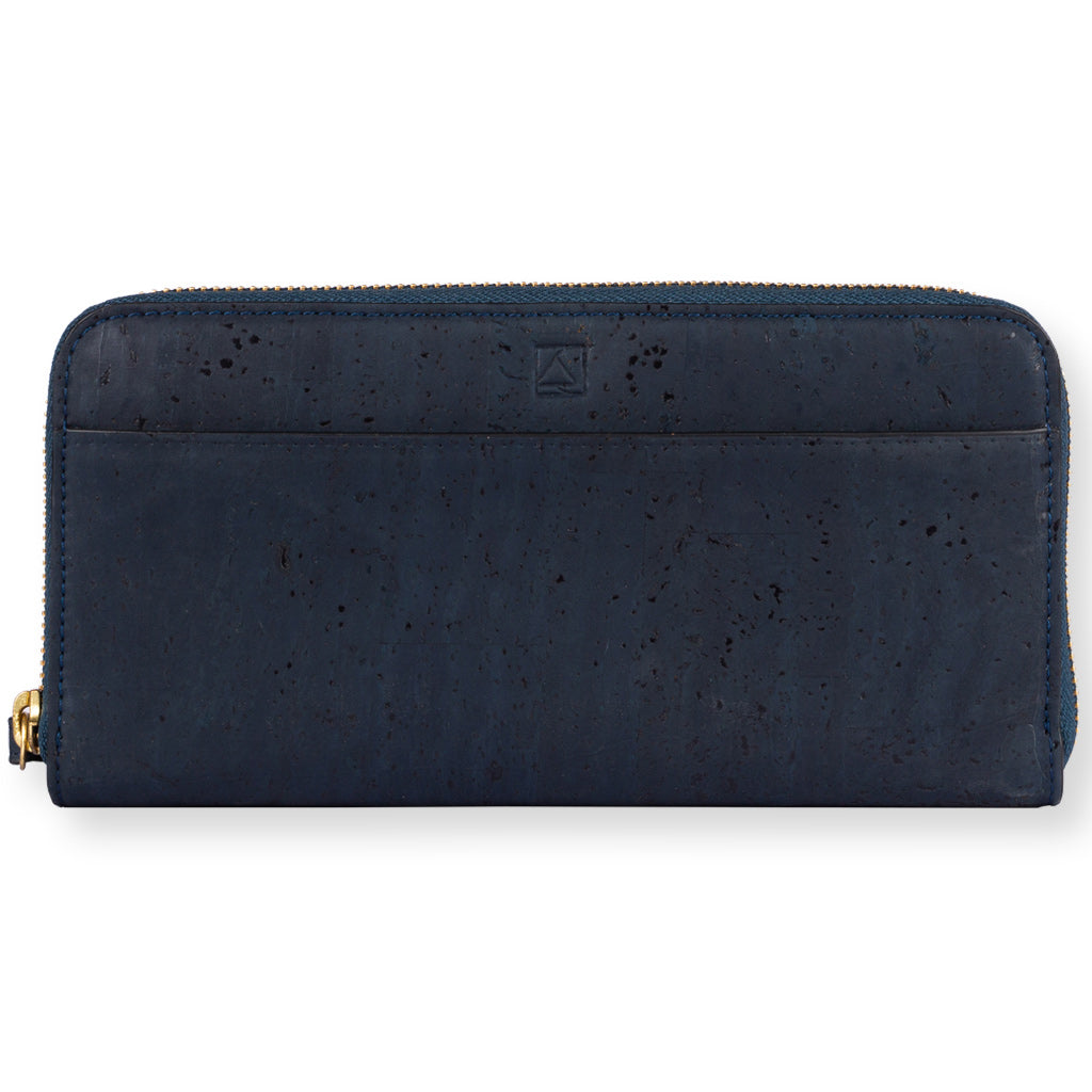 Willow Zip-around Wristlet - Blue